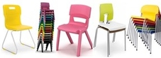 Poly chairs
