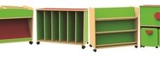 Funky Classroom Storage