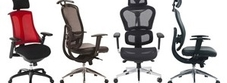 Mesh Office Chairs £150-£200