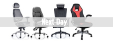 Next Day Leather Operator Chairs
