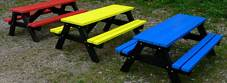 100% Outdoor Recycled Plastic Furniture