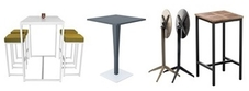 Outdoor Poseur Tables