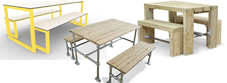 Outdoor Bench Dining Sets