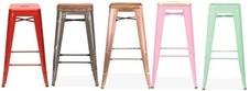 Tolix Style High Stools