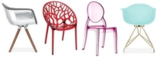 Plastic Chairs Over £100