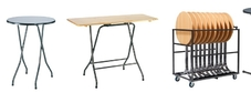 Folding Bar Height Tables