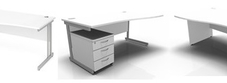 White Wave Desks