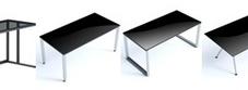 Black Glass Desks