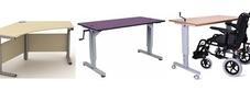 Desks with Manual Height Adjustment
