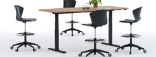 Height Adjustable Sit Stand Boardroom Tables