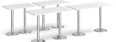 Rectangular Bar Height Tables