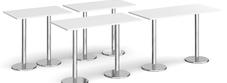 Rectangular Bar Height Tables