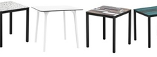 Outdoor Tables with HPL Laminate Tops
