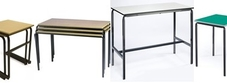 Crush Bent Stackable Tables