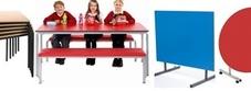 School Canteen Tables