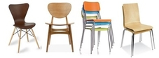 Plywood Cafe Chairs