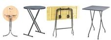 Folding Poseur Tables