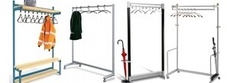 High Capacity Coat Stands