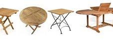 Outdoor Wooden Tables