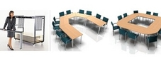 Harley Axis Folding Boardroom Tables