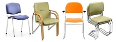 Vinyl and Antibacterial Meeting Chairs