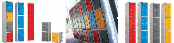Colourplus Plastic Lockers