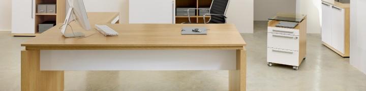 Sliver Glass Office Furniture