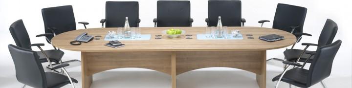 Distinction Boardroom Tables - 15 Colours