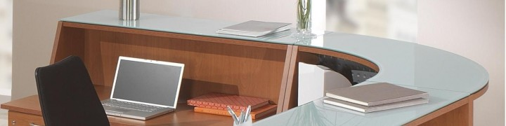 Bienvenue Budget Reception Desks