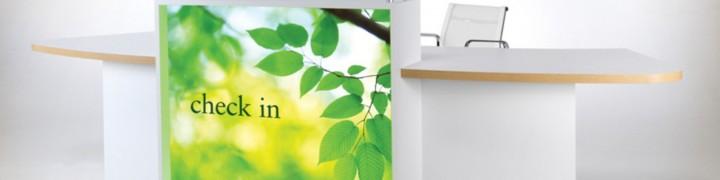 Evo Light Reception Desks