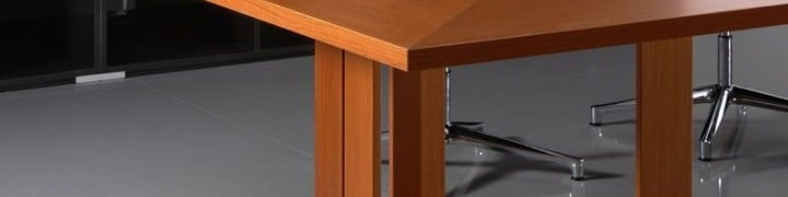 Astral Wood and Glass Boardroom Tables