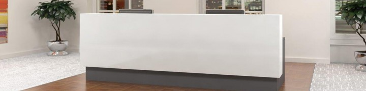 Evo Laminate And Corian Reception Desks