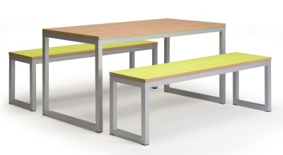 Urban Bench Set - Laminated Seat