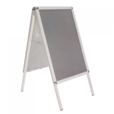 Premier A Frame Pavement Sign With A White Frame