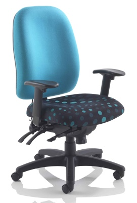 Kentucky 24 Hour Task Chair Front Angle