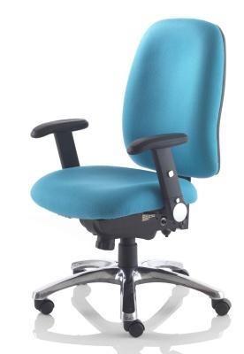 Kentucky 24 Hour Task Chair With A Chrome Base