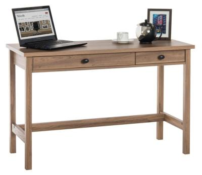 Odessa Salt Oak Console Desk