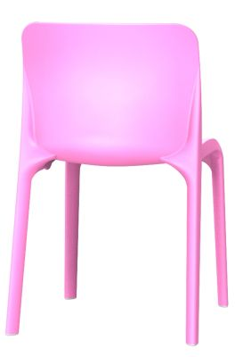 POp Chair In Pink Rear View
