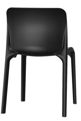 POp Chair In Black Rear View