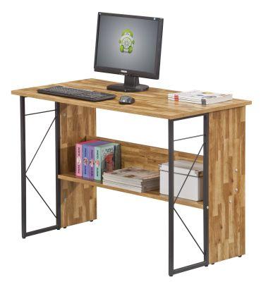 Catalan Walnut Home Office Desk 2