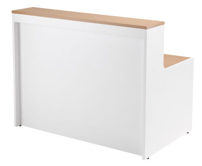 Swift Reception Desk Front Angle View