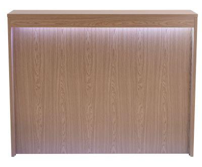 Swift Reception Desk Showing Under Counter Lighting