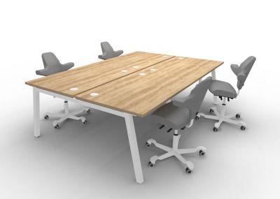 Alumnia - Nebraska Oak 2 Desk
