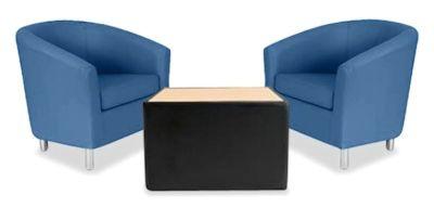 Tritium Tub Chair Bundle Deal Blue