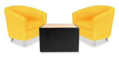 Tritium Tub Chair Bundle Deal Yellow