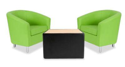 Tritium Tub Chair Bundle Deal Green