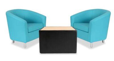 Tritium Tub Chair Bundle Deal Light Blue