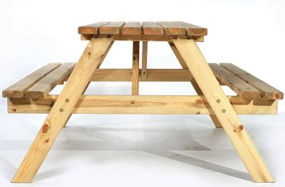 Stanton Picnic Tables Side View