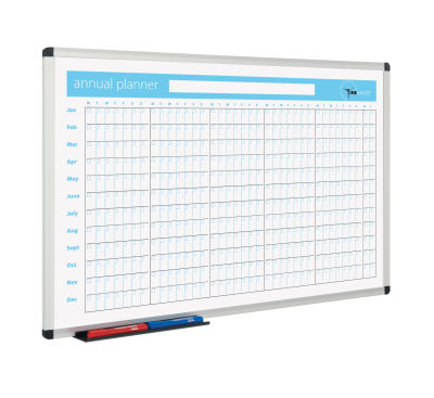 Metro Whiteboard Planner Anual View