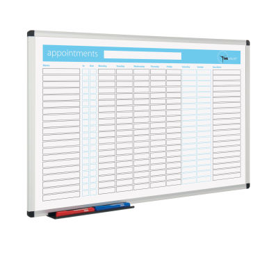 Metro Whiteboard Planner Appointments View